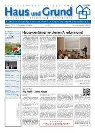 Ausgabe 07/13, PDF, 3.0 MB - Haus und Grund Düsseldorf