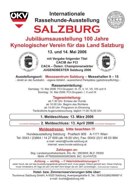Kynologischer Verein für das Land Salzburg - Hundewelt.at