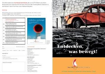 Buchkoop Aktionsfolder Novitäten F2014 - Edition Nautilus