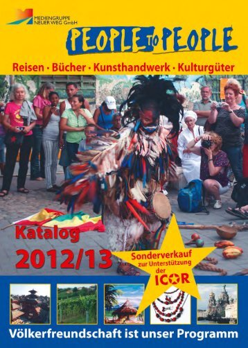 Zum Download des Kataloges als PDF - People to People