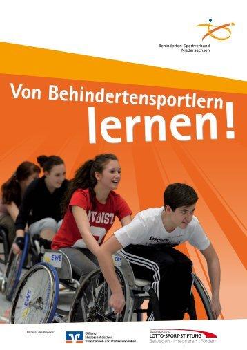 Von Behindertensportlern lernen! - Behinderten Sportverband ...