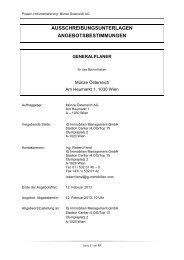 Ausschreibungsunterlagen (pdf, 455KB) - architekturwettbewerb