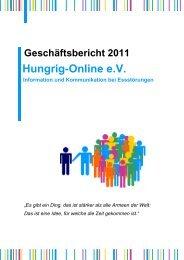 Geschäftsbericht - Hungrig-Online