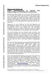 Magersucht-Online.de: Daten und Fakten zum ... - Hungrig-Online