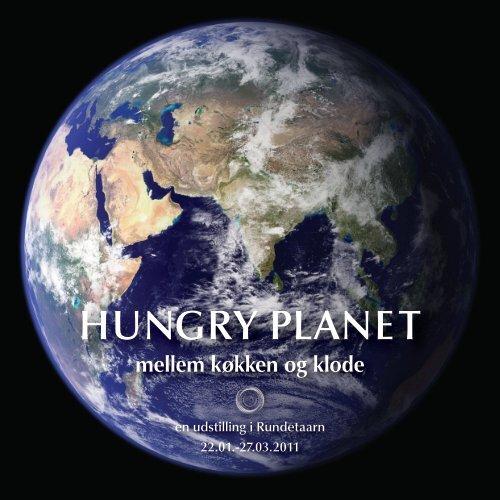 Billedessay fra udstillingen - Hungry Planet - mellem køkken og klode