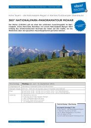 360° NATIONALPARK–PANORAMATOUR MOHAR