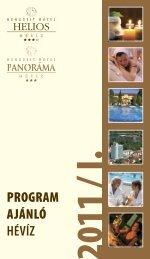 újdonság! a féléves programfüzetünket letöltheti ... - Hunguest Hotels