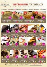 Gluténmentes süteményeink árlistája itt. - Hunguest Hotels
