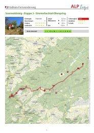 Prädikats-Fernwanderweg Soonwaldsteig - Etappe 3 - Hunsrück ...
