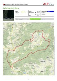 Mountainbike- &Natur-Aktiv-Touren Keller Rad-Aktiv-Route