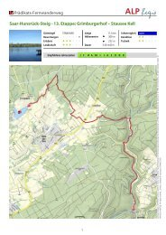 Grimburgerhof – Stausee Kell - Hunsrück Touristik GmbH