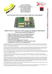 HERON-FPGA12 Datasheet - Hunt Engineering