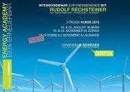 RUDOLF RECHSTEInER - Greenpeace