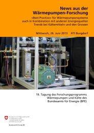 Download - Fachvereinigung Wärmepumpen Schweiz FWS