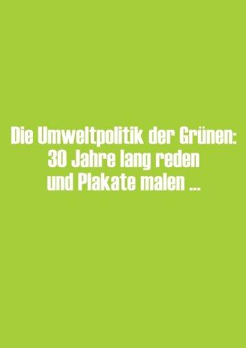 30 Jahre lang reden und Plakate malen… - CDU Deutschlands