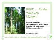 ein wichtiges Kriterium für nachhaltige Waldbewirtschaftung - BFW