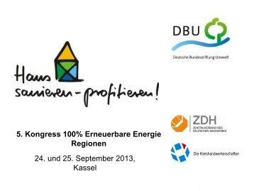"Andreas Skrypietz - 5. Kongress ""100% Erneuerbare-Energie ..."