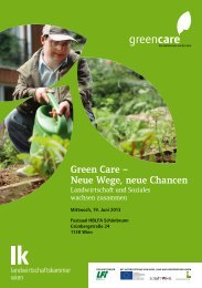 2. Green Care-Tagung