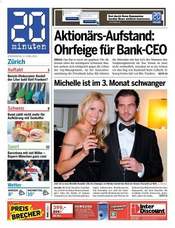 Aktionärs-Aufstand: Ohrfeige für Bank-CEO - 20 Minuten