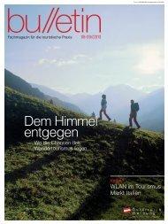 bulletin August/September 2013 - Österreich Werbung