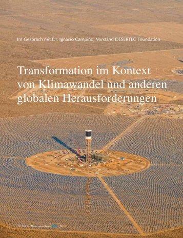 Transformation im Kontext von Klimawandel und anderen ... - Detecon