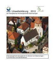 Umwelterklärung 2013-01 - EMAS