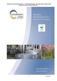 Umwelterklärung 2000 - EMAS