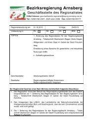 regionalplan regierungsbezirk arnsberg teilabschnitt oberbereich ...