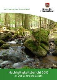 Nachhaltigkeitsbericht 2012 - EMAS