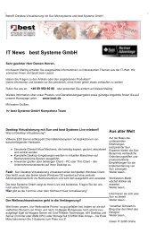 IT News best Systeme Gmbh