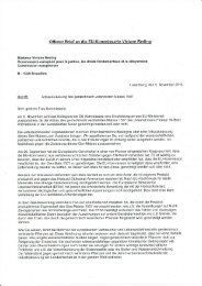 Offener Brief an die EU-Kommissarin Viviane Reding - Greenpeace