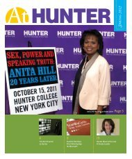 Spring 2012 - Hunter College - CUNY