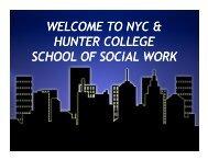 Silberman - Hunter College - CUNY