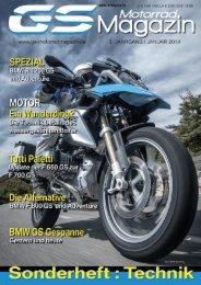 GS Motorrad Magazin Sonderheft TECHNIK SO1/2014