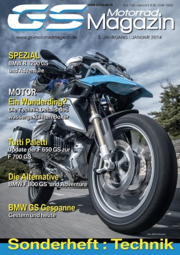 BMW F//G650//F800//R1200GS LED-Rücklicht-Superbike mit KZ-Beleuchtung, Streuglas