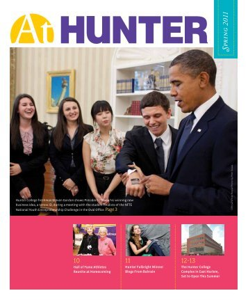 Spring 2011 - Hunter College - CUNY