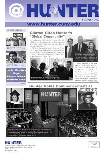 Summer 2002 - Hunter College - CUNY