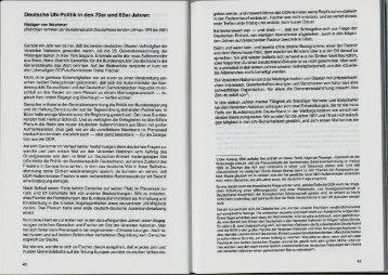 Deutsche UN-Politik in den 70er und 80er Jahren