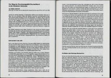 Der Weg der Bundesrepublik Deutschland - Deutsche Gesellschaft ...