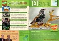 WEIHNACHTSSPENDE - Bund Naturschutz in Bayern eV