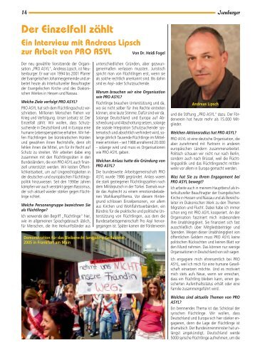 Der Einzelfall zählt – Ein Interview mit Andreas Lipsch ... - Isenburger