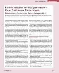 Familienpolitische Positionen des Deutschen Caritasverbandes ...