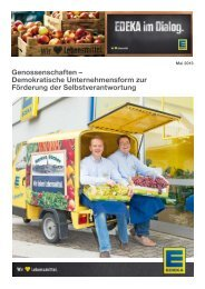 Genossenschaften – Demokratische Unternehmensform zur ... - Edeka