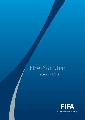 The FIFA Statutes (2013) - FIFA.com