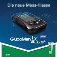 Glucomen® LX Plus - Berlin-Chemie AG