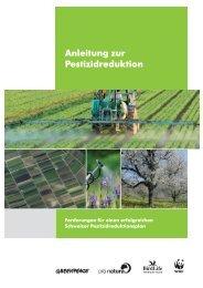 Anleitung zur Pestizidreduktion - Greenpeace