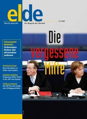 Ausgabe 4 | 2007 - Elde Online