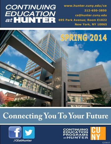 Course Catalog - Hunter College - CUNY