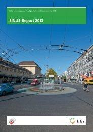 SINUS-Report 2013 - bfu