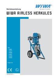 WIWA AIRLESS HERKULES